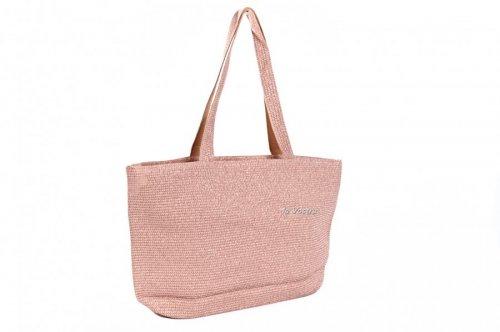 Сумка пляжна жіноча D & Bags 7837 (бронзовий, текстиль)