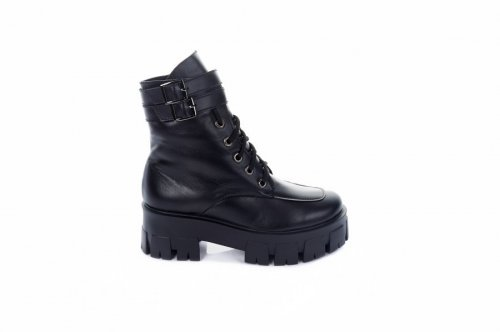 Ботинки женские Ladi 7482 (зимние, черный, кожа)