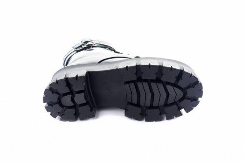 Ботинки женские  7485 (зимние, черный, кожа-лак)