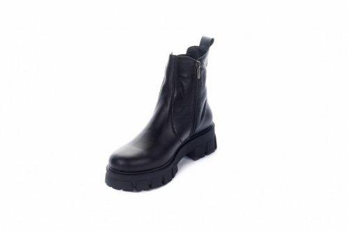 Ботинки женские X-Ligh 7475 (зимние, черный, кожа)