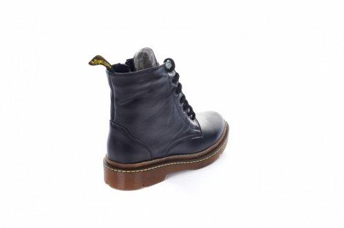Ботинки женские Staturi 7466 (зимние, черный, кожа)