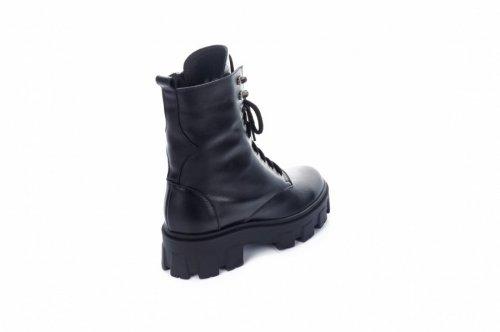Ботинки женские Ladi 7483 (зимние, черный, кожа)