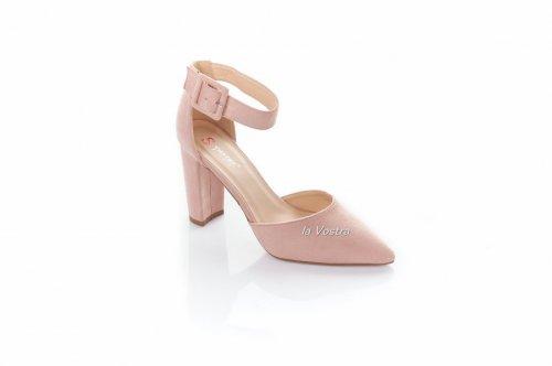 Босоножки женские Seastar 2595 (лето, розовый, эко-замш)