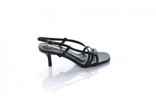 Босоножки женские Seastar 7230 (лето, черный, эко-кожа)
