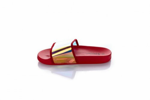 Шльопанці жіночі Seastar 6255 (літо, червоний, силікон)