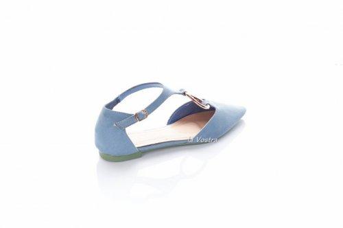 Балетки женские Bona 2320 (лето, синий)