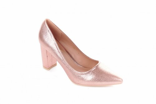 Туфли женские Comer 6925 (весна-лето-осень, шампань, эко-кожа)