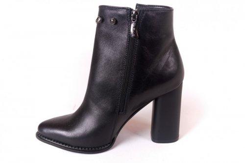 Ботинки женские Nivelie 5524 (весенне-осенние, т.карина, кожа)