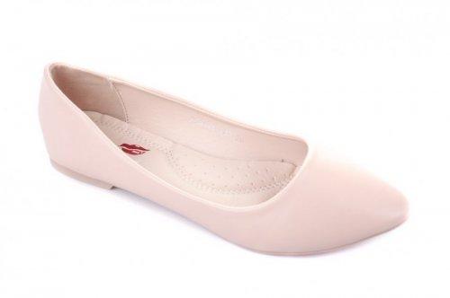 Балетки женские Yes mile AA8148-20B (весна-лето-осень, розовый, эко-кожа)