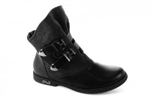 Ботинки женские Haidra 2837 (зимние, черный)