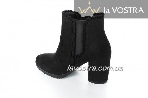Ботинки женские M269 (весенне-осенние, черный)
