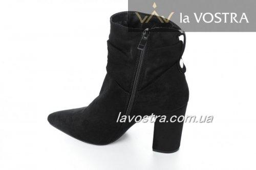 Ботинки женские Marouiiz 5364 (весна-лето-осень, черный, эко-кожа)