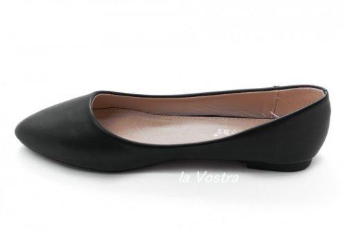 Балетки женские A.A 2216 (лето, черный)