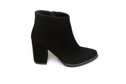 Ботинки женские Nivelie 8016 (весенне-осенние, т.метис, замш)