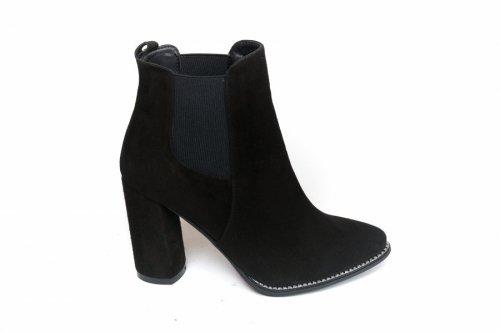 Ботинки женские Nivelie 5436 (весенне-осенние, т.метис, замш)