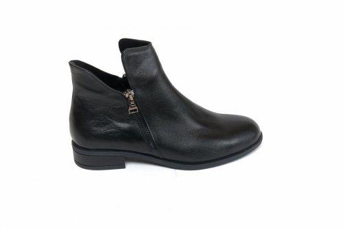 Ботинки женские Sezar 11чк (весенне-осенние, черный, кожа)
