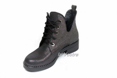 Ботинки женские Брук3 (весенне-осенние, серый)