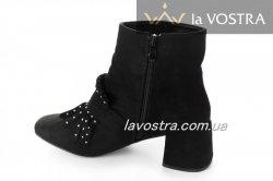 Ботинки женские Mulanka 2820 (весенне-осенние, черный)