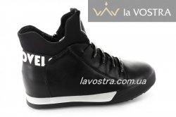 Ботинки женские X-Mmm 2750 (весенне-осенние, черный)