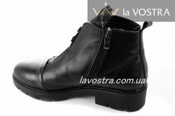 Ботинки женские Днепр 5258 (зимние, черный, кожа)