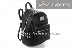 Рюкзак женский David jones 6516 (черный, эко-кожа)