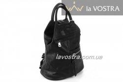 Рюкзак женский G&F 6519 (черный, эко-кожа)