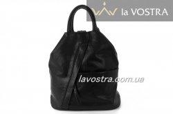 Рюкзак женский G&F 6523 (черный, эко-кожа)
