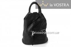 Рюкзак женский G&F 6522 (черный, эко-кожа)