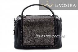 Сумка жіноча Velina Fabbiano 6615 (чорний, еко-шкіра)
