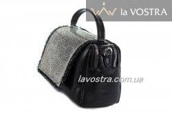 Сумка женская Velina Fabbiano 6615 (черный, эко-кожа)