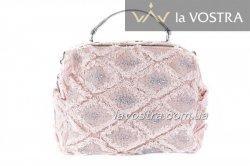 Сумка жіноча Velina Fabbiano 7060 (рожевий, текстиль)
