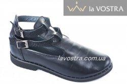 Туфлі жіночі Дніпро 4811 (весна-літо-осінь, чорний, шкіра)