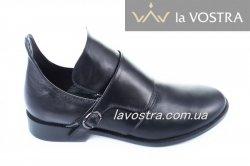 Ботинки женские Marko Rosi 1098чк (весенне-осенние, черный, кожа)