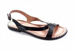 Босоножки женские Ladi 6208 (лето, черный, кожа)