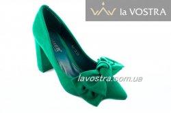 Туфлі жіночі Comer 4839 (весна-літо-осінь, зелений)