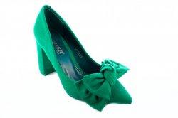 Туфли женские Comer 4839 (весна-лето-осень, зеленый)