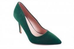 Туфли женские S.S 5882 (весна-лето-осень, зеленый, эко-замш)