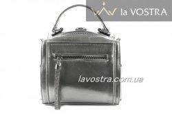 Сумка женская Lady-bags 6975 (серебро, эко-кожа)