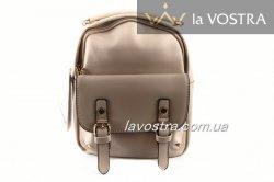 Рюкзак женский Caely&HF 6955 (бежевый, эко-кожа)