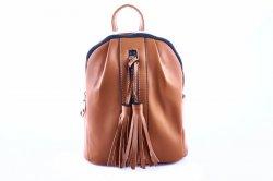 Рюкзак жіночий Caely & HF 6940 (коричневий, еко-шкіра)