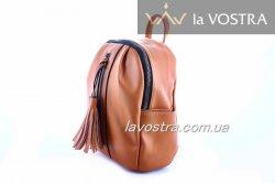 Рюкзак женский Caely&HF 6940 (коричневый, эко-кожа)