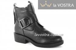 Ботинки женские Днепр 2868 (зимние, черный)