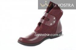 Ботинки женские Weide 2733 (весенне-осенние, красный)