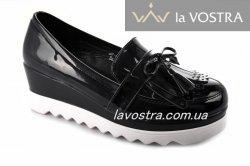 Туфли женские Seastar 206 (осень-лето-весна, черный, эко-кожа)