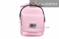Рюкзак женский Caely&HF 6953 (розовый, эко-кожа)