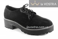 Туфли женские Weide 4750 (весна-лето-осень, черный)