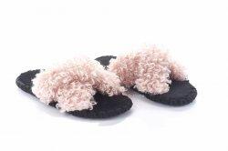 Тапочки женские  6759 (, розовый, текстиль)
