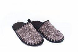 Тапочки женские  6630 (, розовый, текстиль)