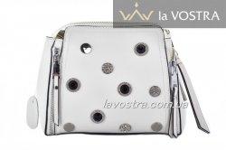Сумка: жіноча Lady-bags 6980 (білий, шкіра)