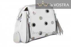 Сумка :женская Lady-bags 6980 (белый, кожа)